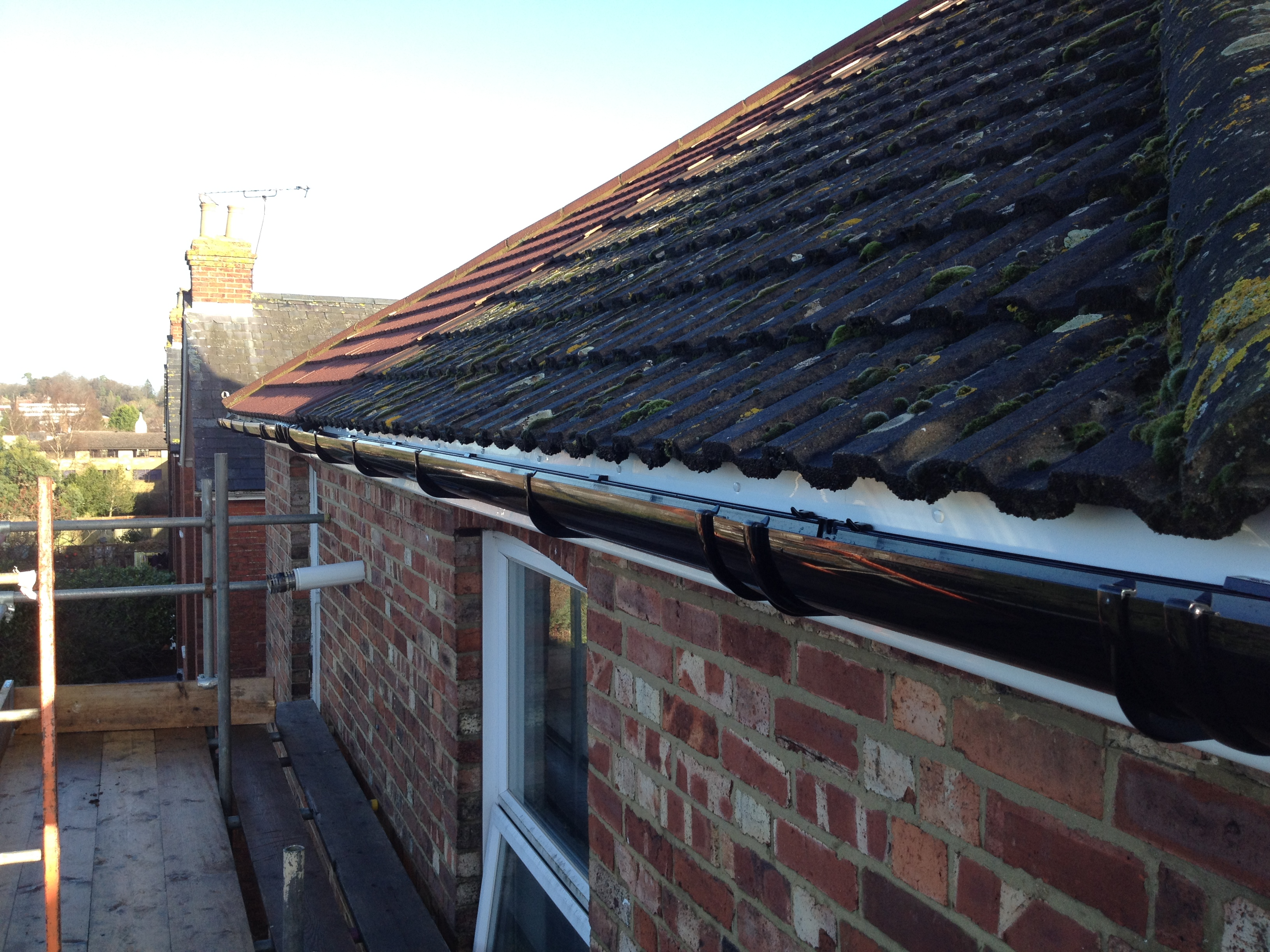 New gutter installations sevenoaks gutter cleaning company for New gutters