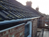 Replacement guttering, fascia and soffit